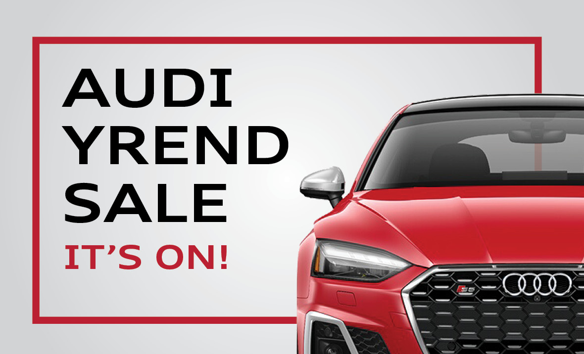Audi Year End Sale