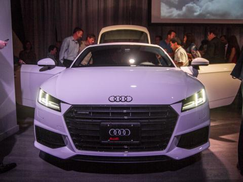 2016 Audi TT exclusive unveiling