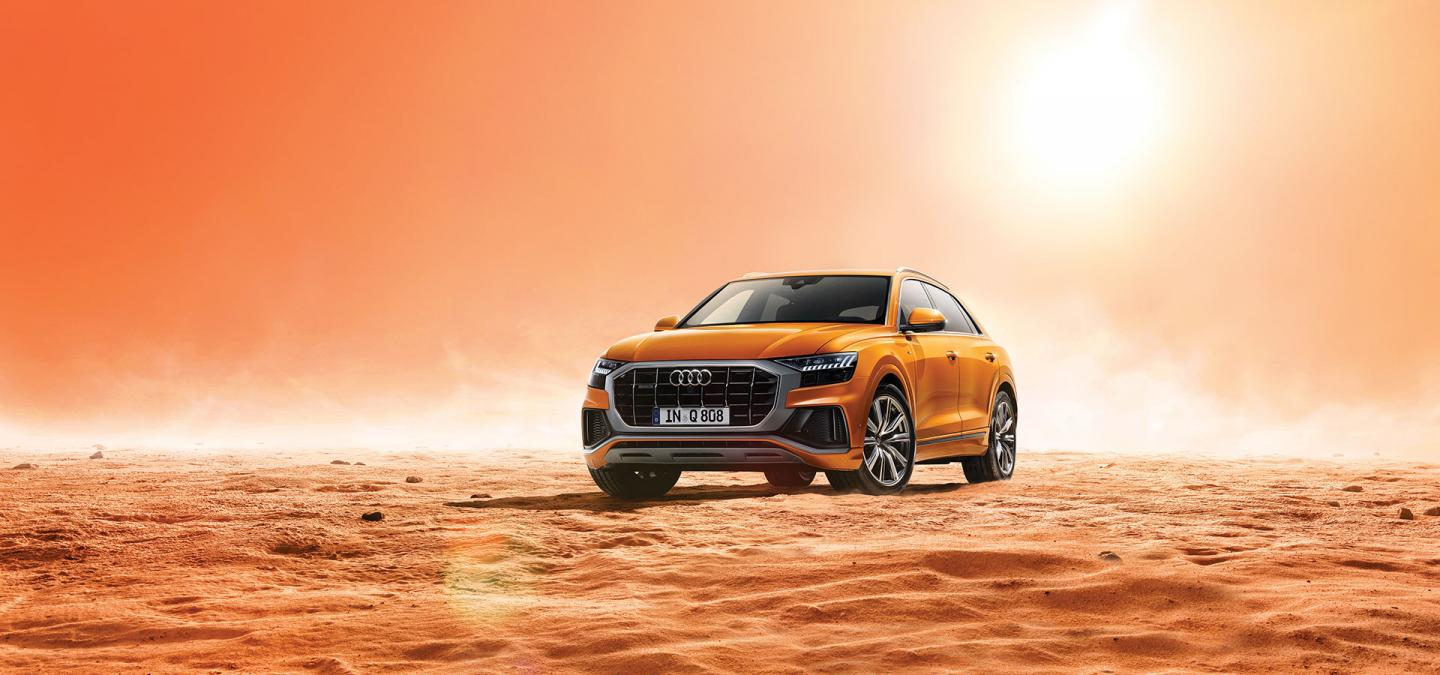 The All-New 2019 Audi Q8 at OpenRoad Audi Boundary