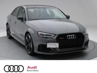 2018 Audi RS 3 Sedan 2.5T quattro 7sp S tronic