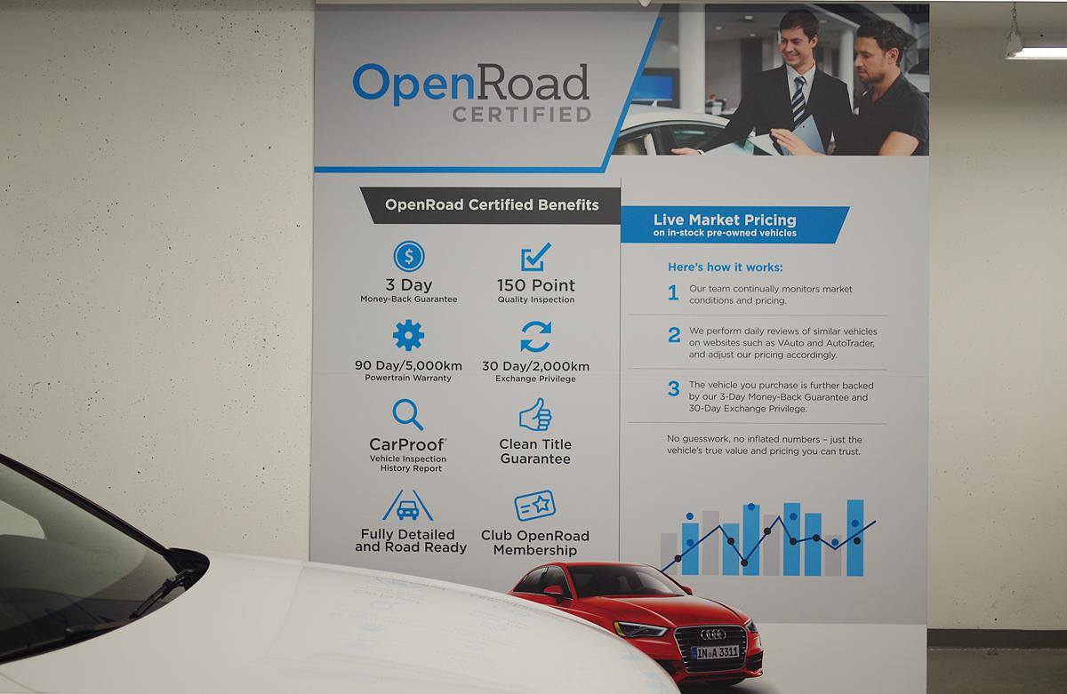 The benefits of purchasing a manufacturer certified pre-owned vehicle at OpenRoad