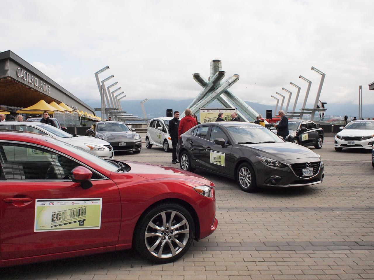 Go green or go home: 2014 AJAC Eco-Run by OpenRoad Auto Group