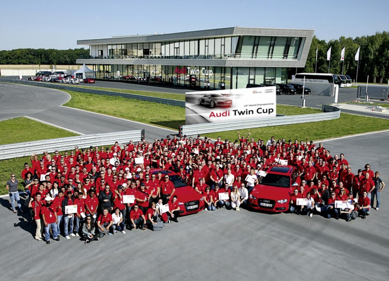 Audi Twin Cup victory for OpenRoad technician